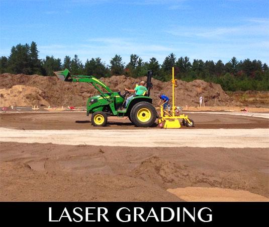 laser grading